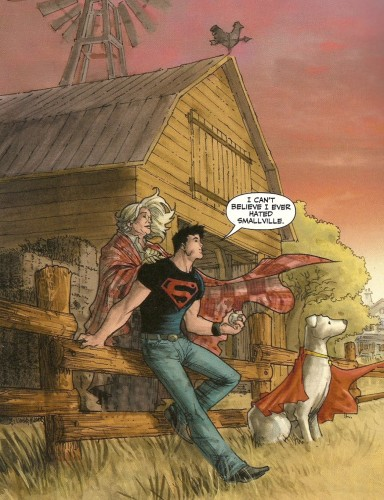 Superboy hated smallville