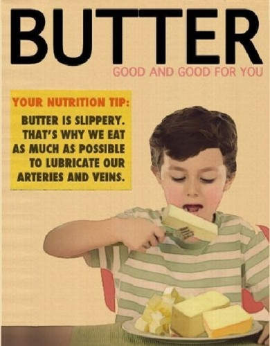 butter – good and good for you