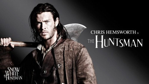 snow white and the huntsman – the huntsman