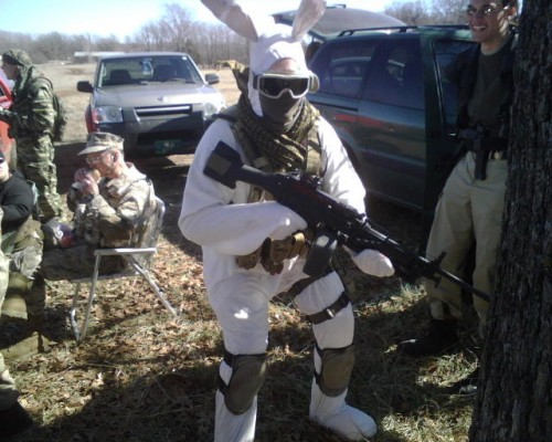 bunny soldier