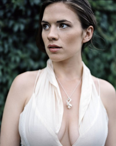 hayley atwell looking right 398x500 hayley atwell looking right