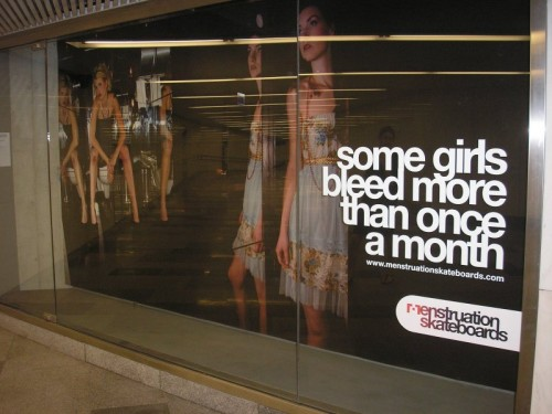 some girls bleed more than once a month 500x375 some girls bleed more than once a month