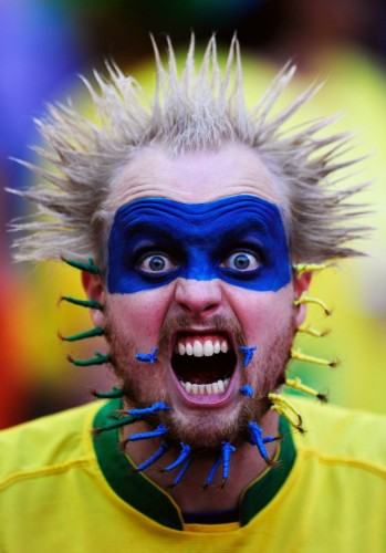 south african world cup fan 349x500 south african world cup fan