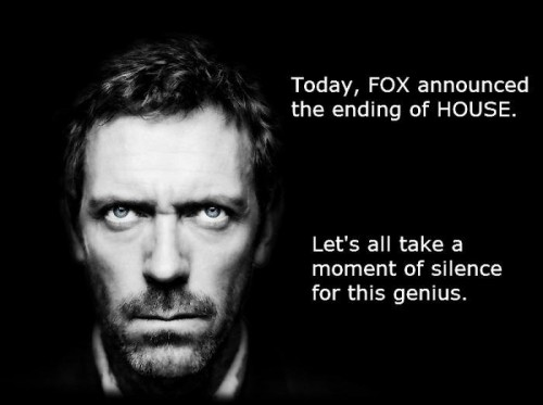 moment of silence for house