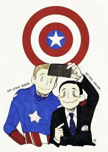 cpt steve rogers and agt phil colson 356x500 cpt steve rogers and agt phil colson