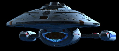 USS voyager in high detail 500x218 USS voyager in high detail