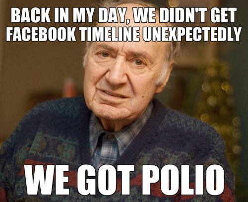 back in my day we got polio 500x407 back in my day, we got polio