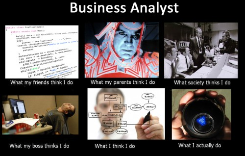business analyst – what people think
