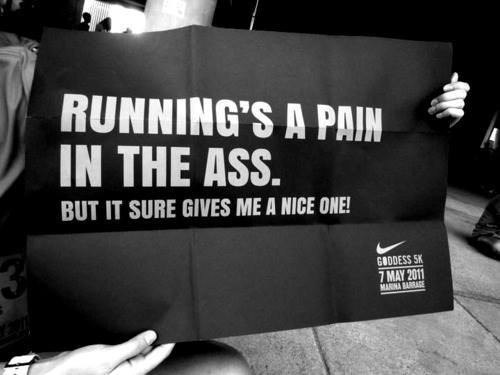running is a pain in the ass running is a pain in the ass