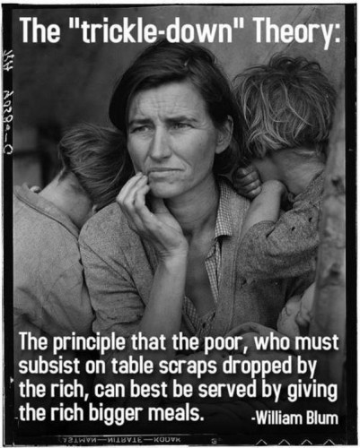 the trickle down theory 401x500 the trickle down theory