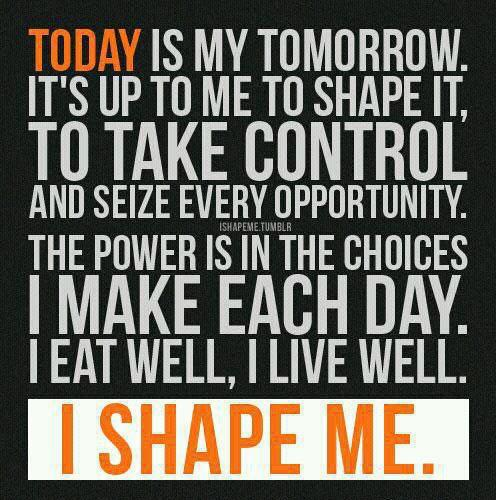 today is my tomorrow