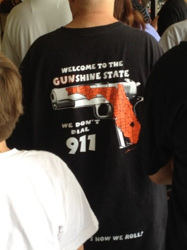welcome to the gunshine state we dont dial 911 375x500 welcome to the gunshine state   we dont dial 911