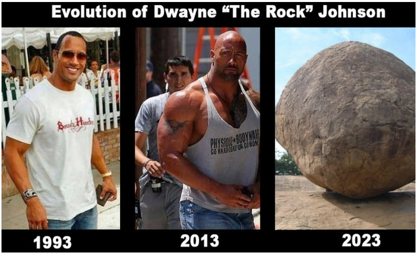 steroide the rock
