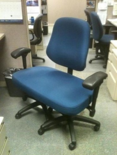 Extra Wide Work Chair