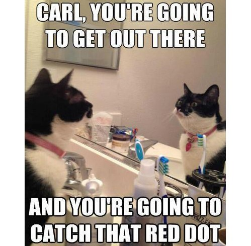 Get out there and catch that red dot