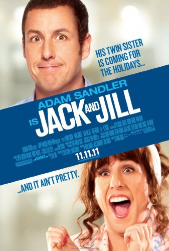 Jack and Jill movie poster 337x500 Jack and Jill movie poster