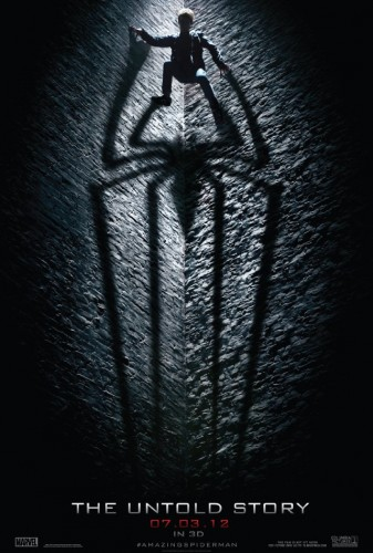 The Amazing Spider Man movie poster 337x500 The Amazing Spider Man movie poster