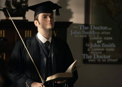 The Doctor is John Smith 500x357 The Doctor is John Smith