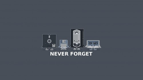 never forget our old media