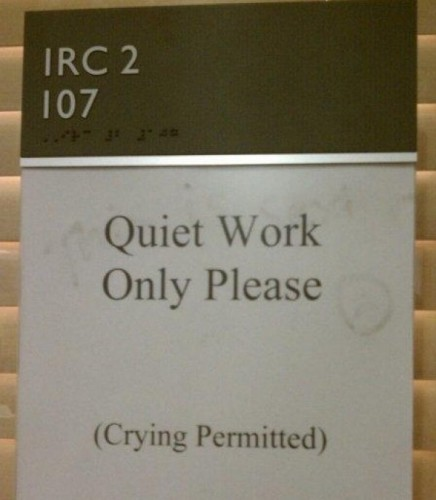 quiet work only please crying permittted 436x500 quiet work only please   crying permittted