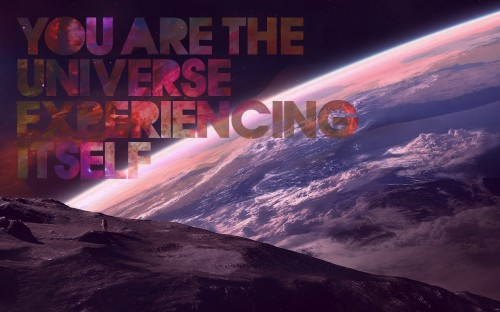 you are the universe experiencing itself 500x312 you are the universe experiencing itself