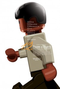 12 Years A Slave Lego Movie Poster 202x300 Lego Movie Posters