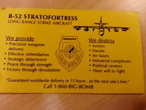 B 52 Stratofortress Business Card 300x225 B 52 Stratofortress Business Card