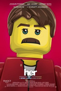Her Lego Movie Poster 202x300 Lego Movie Posters