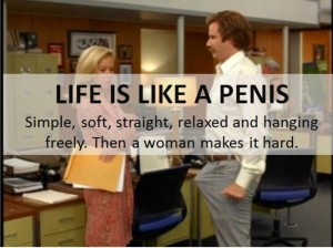 Life is like a penis 300x224 Life is like a penis