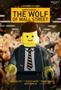 The Wolf Of Wall Street Lego Movie Poster 206x300 Lego Movie Posters