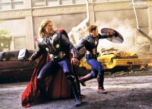 Thor and Captain America 300x215 Thor and Captain America