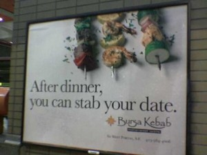 after dinner you can stab your date 300x225 after dinner you can stab your date