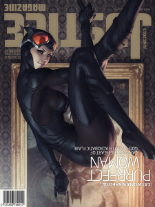 catwoman 225x300 justice magazine covers