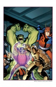 classic avengers fighting each other 193x300 classic avengers fighting each other