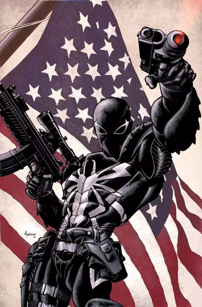 Agent Venom and the American Flag 674x1024 Agent Venom and the American Flag