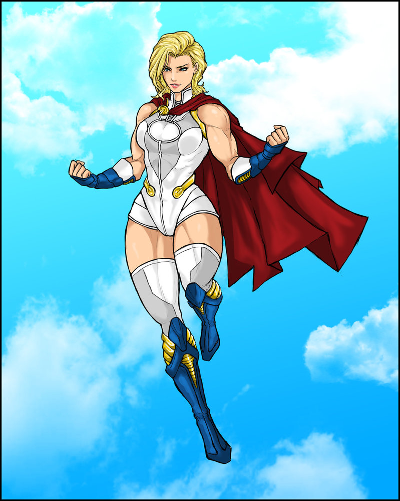 Alternative Powergirl outfit