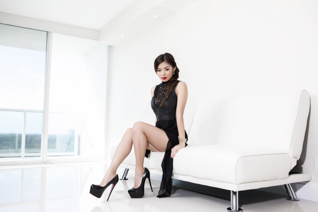 Asian on a Pure White couch 1024x683 Asian on a Pure White couch