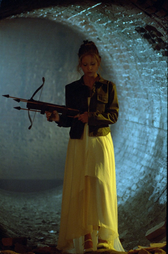 Buffy with Crossbow 678x1024 Buffy with Crossbow