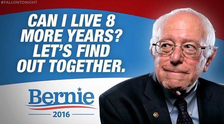 Can Bernie make it another 8 years Can Bernie make it another 8 years
