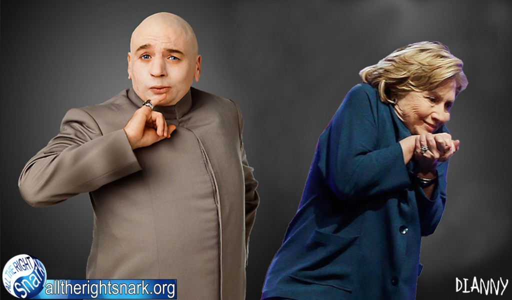 Dr Evil and His Girl Friend Hillary Clinton 1024x600 Dr Evil and His Girl Friend Hillary Clinton