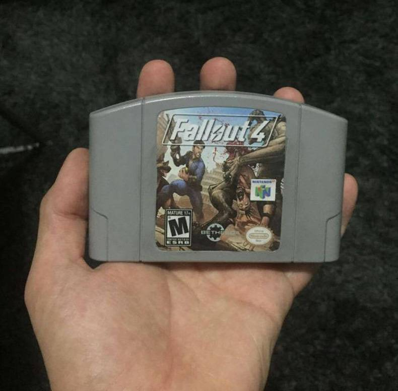 Fallout 4 on n64 Fallout 4 on n64