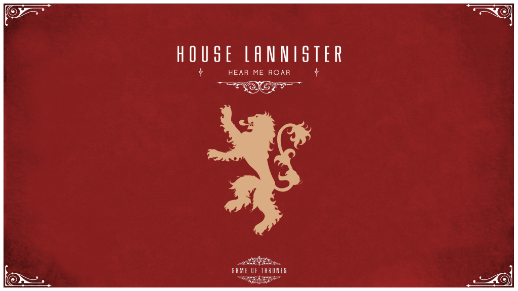 House Lanniter 1024x576 GoT House Wallpapers