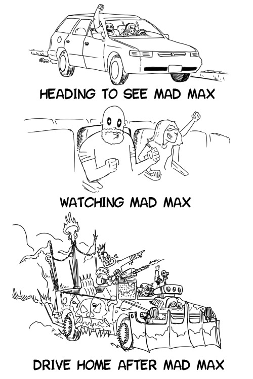 Mad Max traveling Mad Max traveling