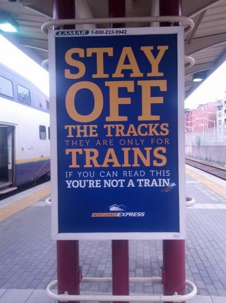 Stay Off The Tracks 767x1024 Stay Off The Tracks