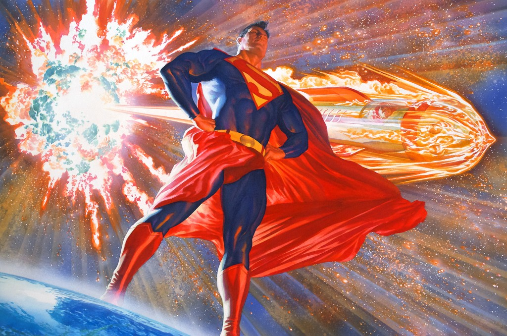 superman stands by his exploding star 1024x678 superman stands by his exploding star