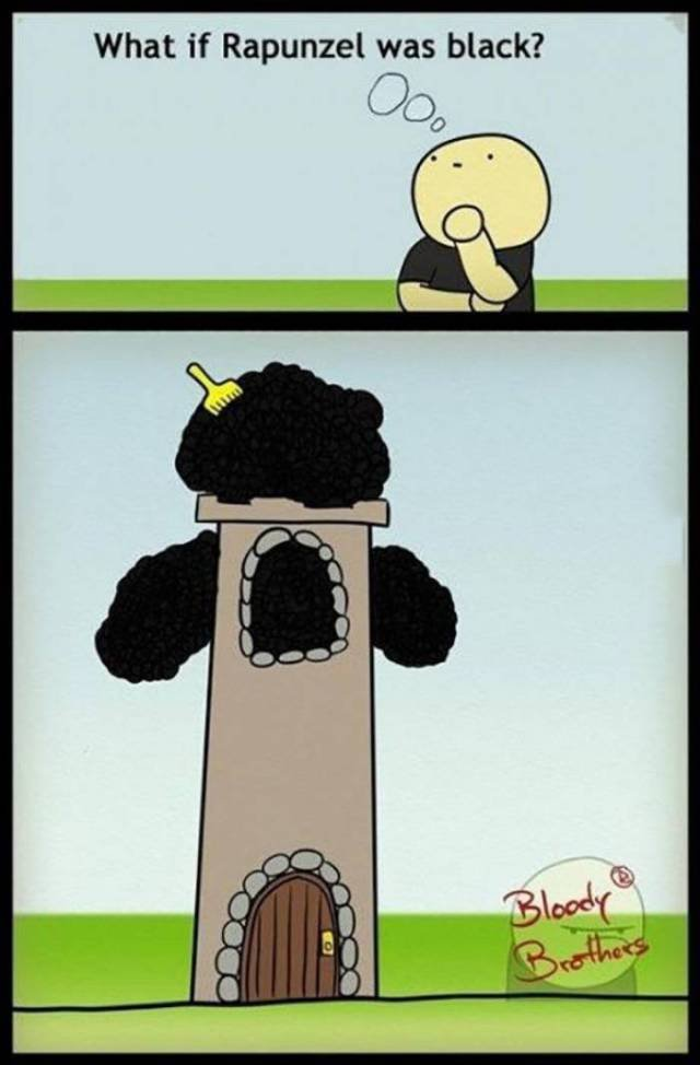 what if repunzel was black what if repunzel was black