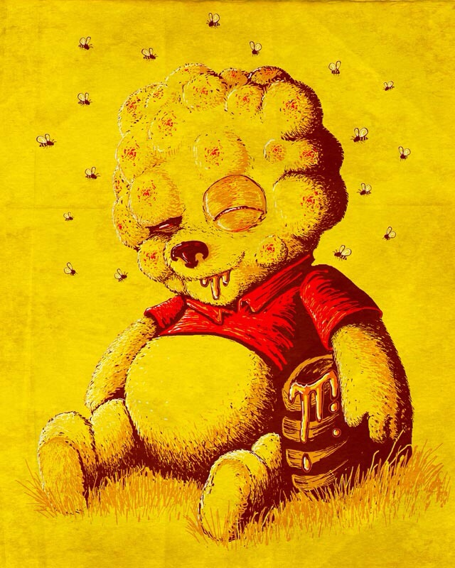 winnie the pooh is allergic to bees winnie the pooh is allergic to bees
