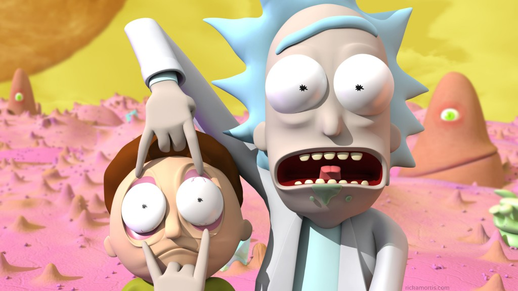 3D Rick and Morty 1024x576 3D Rick and Morty