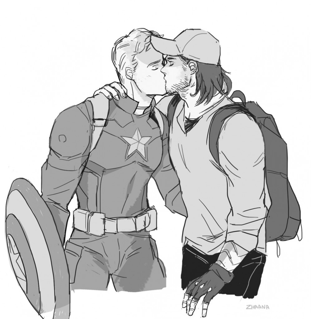 Captain America loves the Winter Soldier 997x1024 Captain America loves the Winter Soldier