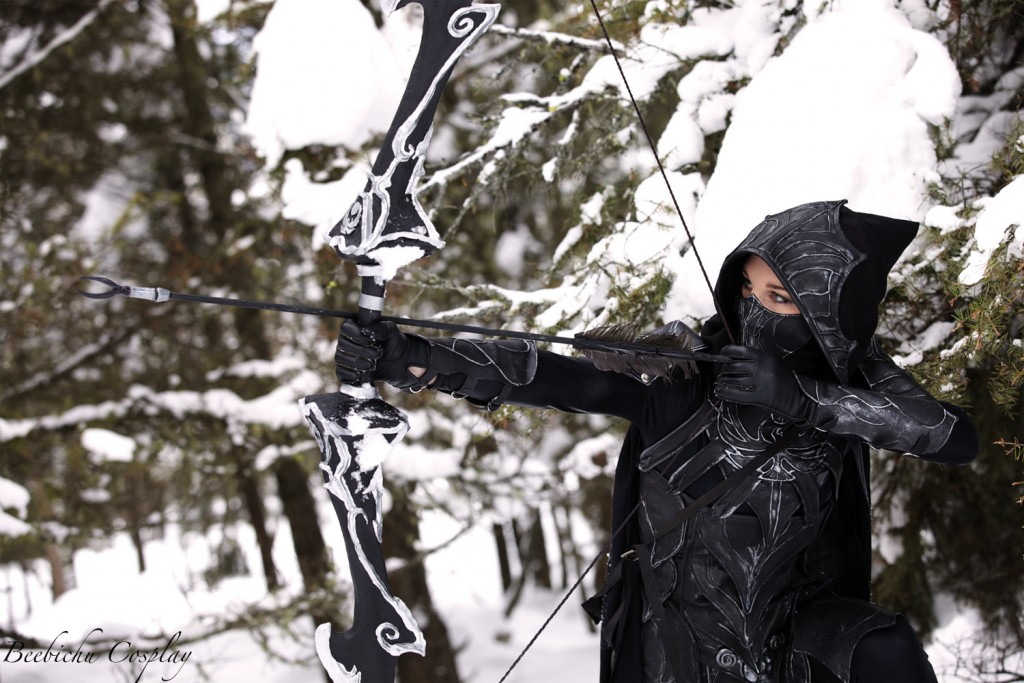Dragonage Archer Cosplay in the snow 1024x683 Dragonage Archer Cosplay in the snow